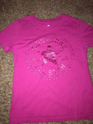 Pink converse shirt for Sale in Houston, TX
