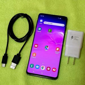 Samsung Galaxy S10 128gb +512gb slot **Factory UNLOCKED, **Liberado** ALL cell phone Companies USA , Mexico and Overseas PAID OFF **NEW CONDITION** for Sale in Cypress, CA