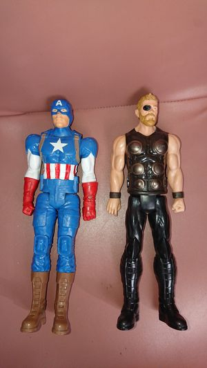 """2 Hasbro figures 12"""" preowned for Sale in Glendale, AZ"""