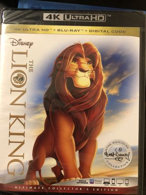 The lion king digital code for Sale in Lewisville, TX