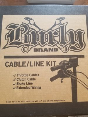 "Sportster ""Ape Hanger"" Cable Kit for Sale in Long Island, VA"