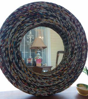 Unique Folk Art Magazine Mirror for Sale in Orcutt, CA