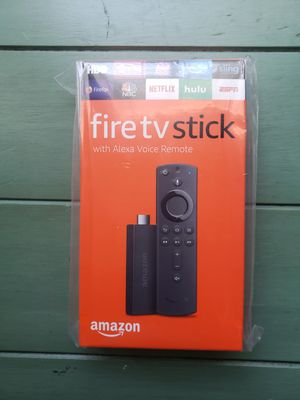 Amazon Fire TV Stick w/ Alexa Voice Remote for Sale in Irving, TX