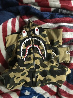 Reversible bape hoodie for Sale in Gaithersburg, MD
