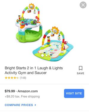 Baby Gym/Saucer for Sale in Compton, CA