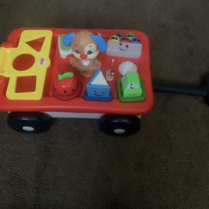 Fisher-Price Laugh & Learn Wagon (Like New) for Sale in Santa Fe Springs, CA