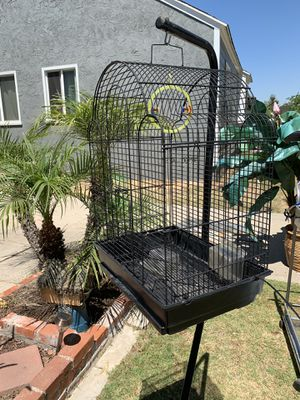 Bird cage and two stands for Sale in Lakewood, CA