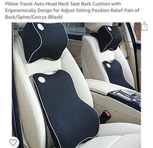 Like-new Seat Neck&Back Cushion for Sale in Atlanta, GA