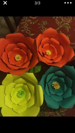 Paper flowers for Sale in Pomona, CA