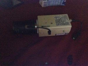 Panasonic color cctv camera with a 7-70mm zoom lens for Sale in Tempe, AZ