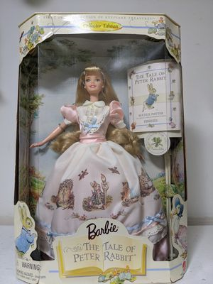 Keepsake Treasures Collection 1998 Barbie and the Tale of Peter Rabbit for Sale in Wheaton, IL