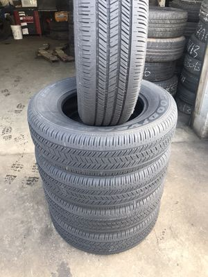 Selling this nice Set of Goodyears 215/70R15 for Sale in Durham, NC