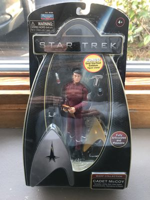 2009 PLAYMATES STAR TREK WARP COLLECTION CADET MCCOY ACTION FIGURE for Sale in Warwick, RI