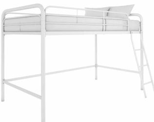 Twin Low Loft Bed - White for Sale in Columbus,  OH