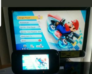 Nintendo Wii U with Mario kart 8 games for Sale in Orlando, FL