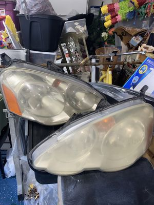 Acura RSX 02-04 Front Right & Left Halogen Headlight Lamp OEM for Sale in Chino, CA