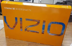 4k UHD TV - 50inch V-series with smart features and 6 month warranty! for Sale in Glendale, AZ
