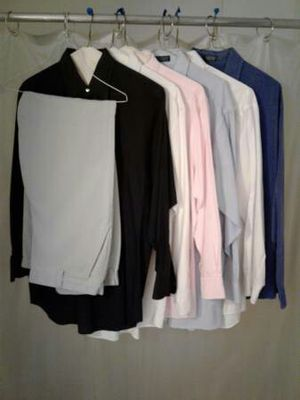 1 pair of mens pants and 6 shirts (group #1). for Sale in Austin, TX