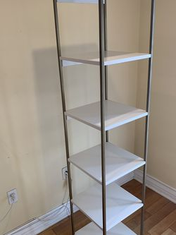 West Elm White Bookcase for Sale in Los Angeles,  CA