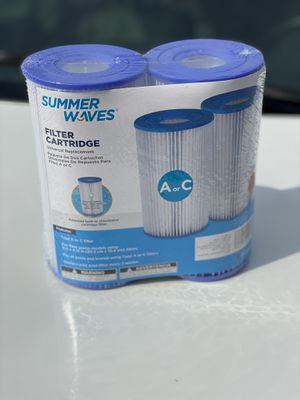 Summer Waves Pool Filter A/C 2 pack for Sale in Tampa, FL