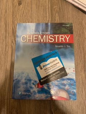 Chemestry book 6th edition for Sale in Etiwanda, CA