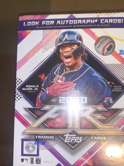 2020 Topps MLB Fire Baseball (46 Trading Cards per box) Factory Sealed IN HAND for Sale in Anaheim,  CA