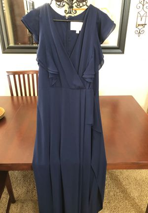 Navy Bridal dress- New from David's bridal for Sale in Corona, CA