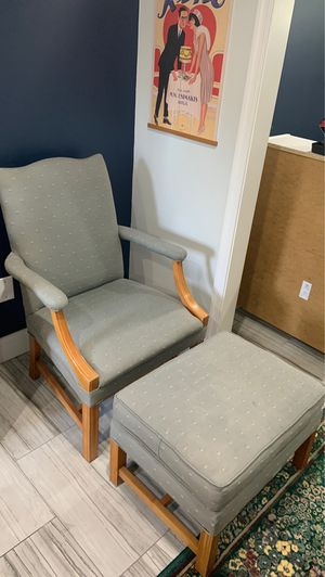 Chair and ottoman for Sale in Washington, DC