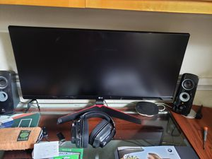 "29"" LG widescreen gaming monitor. 1ms lag for Sale in Pensacola, FL"