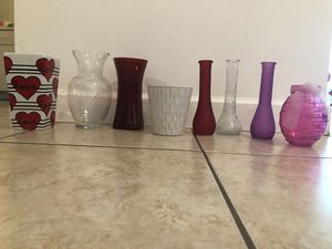 Vases for flowers for Sale in Miami, FL