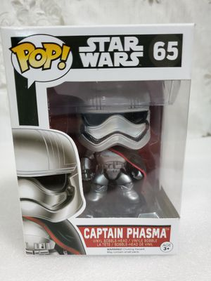 Funko Pop Star Wars Ep7 Captain Phasma Vinyl Figure for Sale in Santa Fe Springs, CA
