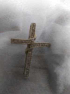 Gold over 925 cross. Charm for Sale in Phoenix, AZ