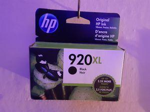 Hp 920 XL Black ink cartridge for Sale in Menomonie, WI