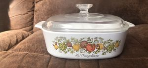 Corning ware spice of life casserole dish with lid for Sale in O'Fallon, MO