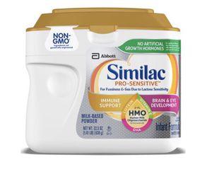 Similac Pro-Sensitive Infant Formula for Sale in Columbus, OH
