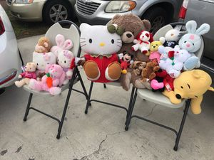 Stuffed animals for SALE! for Sale in Hialeah, FL