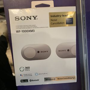 SONY WF-1000XM3 Headphones for Sale in El Cajon, CA