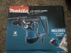 Makita ROTARY HAMMER & ANGLE GRINDER for Sale in North Highlands, CA