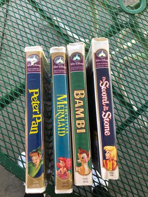 Disney vhs collections for Sale in Sacramento, CA