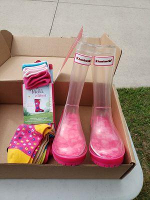 American Girl Rain Boots for Sale in Zion, IL