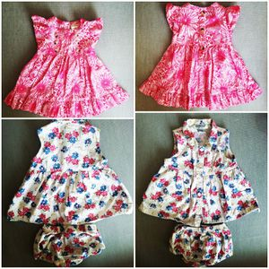 Two 0-3 months baby girl dresses for Sale in Avondale, AZ