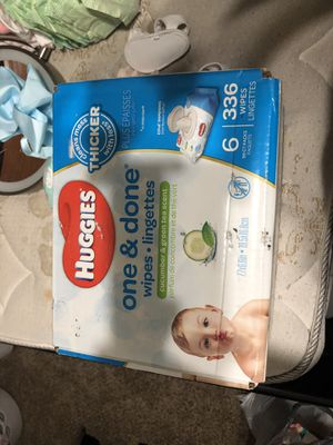 huggies & pampers wipes for Sale in Phoenix, AZ