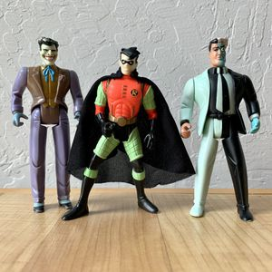Vintage Kenner DC Comics Action Figure Lot, Robin, Two Face and Joker Toys for Sale in Elizabethtown, PA