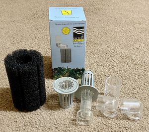 In Box Aquarium Technology Inc Filtration Designed For The Modern Aquarium Over 40 Gallons Filter Max III for Sale in Raleigh, NC