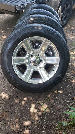 20 inch dodge Ram wheels oem for Sale in Dallas, TX