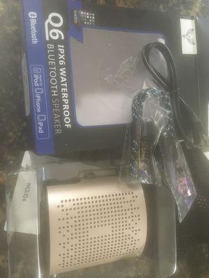 Bluetooth and speaker waterproof for Sale in Pasadena, CA