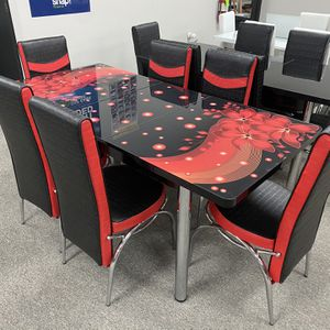 Dining Room Dining Set With 6 chairs for Sale in Richardson, TX