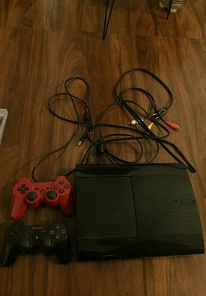 PS3 slim with 16 games for Sale in Glen Burnie, MD