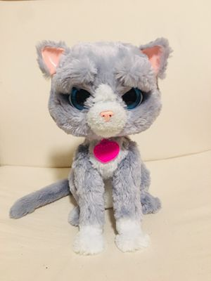 "Furreal Friends Bootsie Interactive Toy Kitty Cat Grey White Hasbro 12"" Purring for Sale in Orlando, FL"