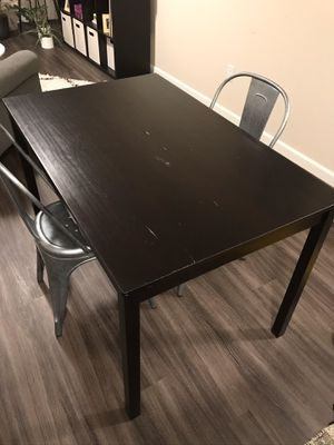 Wood Kitchen Table for Sale in Seattle, WA